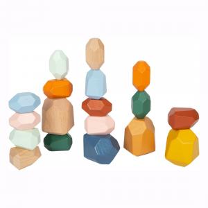 Mattoncini d'equilibrio Gioco Montessori Safari