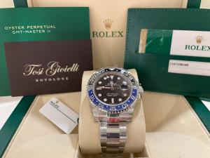 Rolex GMT Master II  116710BLNR  NOS- FULL STICKERS