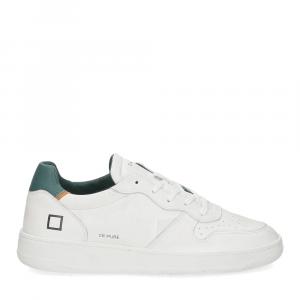 D.A.T.E. Court pure white green-2