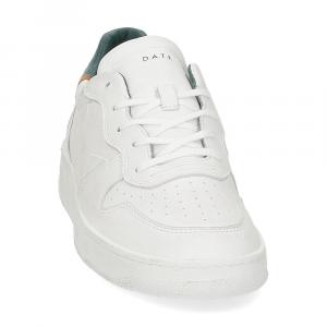 D.A.T.E. Court pure white green-3