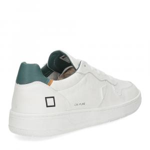 D.A.T.E. Court pure white green-5