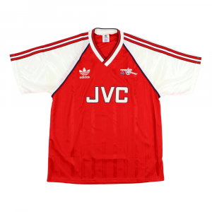 1988-90 Arsenal Maglia Home L (Top)