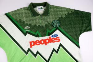 1991-92 Celtic Maglia Away L (Top)