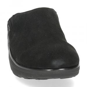 Fitflop Loaf suede clog black-3