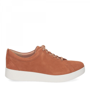 Fitflop Rally suede sneaker light tan-2