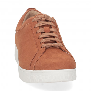Fitflop Rally suede sneaker light tan-3