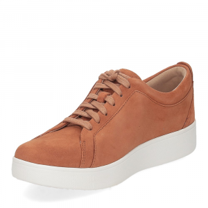 Fitflop Rally suede sneaker light tan-4