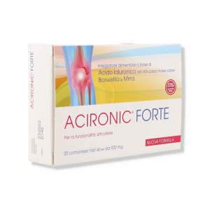 ACIRONIC FORTE 20 CPR FAST-SLOW