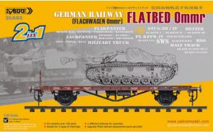 German Railway Flatbed Ommr