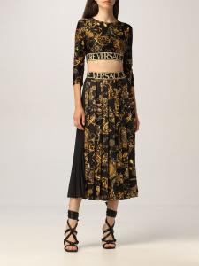 Top  con stampa baroque di Versace Jeans Couture