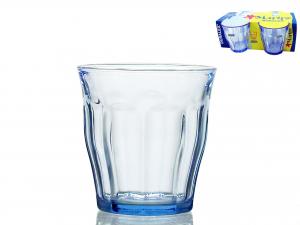 Confezione 4 Bicchieri In Vetro Picardie Marine Cl22