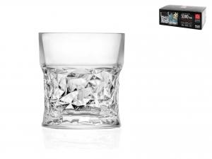 Confezione 6 Bicchieri Vetro Funky Cl32