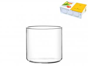 PIATTO in borosilicato, 300 ml, trasparente
