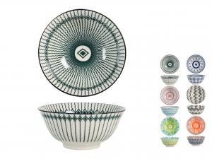 COPPA in porcellana, A 15 cm, decori assortiti