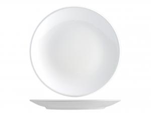 Piatto in earthenware, A 26 cm, bianco
