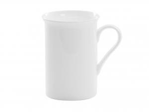 MUG in porcellana Bone China, 300 ml, bianco