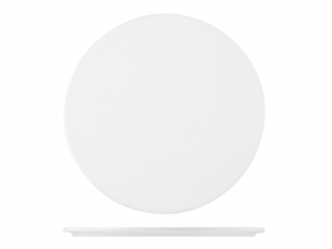 Piatto Tondo In Porcellana, ø 30 Cm, Bianco