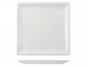 Piatto In Porcellana, 25,5x25,5 Cm, Bianco