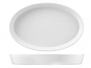 H&h Pirofila Porcellana Ovale 51x33xh7 Strumenti Da Cucina