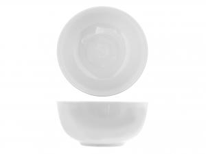Coppetta in porcellana, A 14 cm, bianco