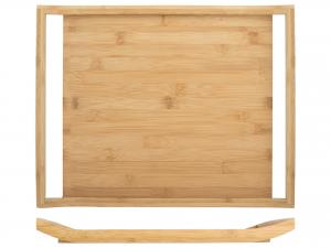 H&h Vassoio Bambu, 45x35cm