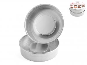 Set 2 Pezzi In Alluminio 'formarettang' Piccola