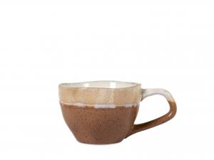 4 Tazze Caffe' In Stoneware Malika Senza Piatto Colore Ass11