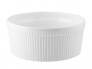 Ramequin Porcellana Bianco Cm17xh8       A0325