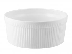 Ramequin Porcellana Bianco Cm20xh9       A0326