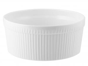 Ramequin Porcellana Bianco Cm22xh9,5     A0327