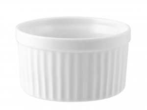 Ramequin Porcellana Bianco Cm6,5xh4      A3236