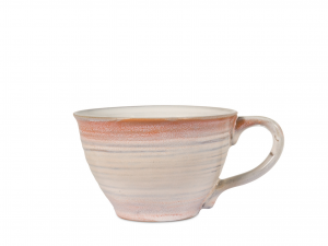 4 Tazze Te' In Stoneware Java Senza Piatto Colore Assortiti