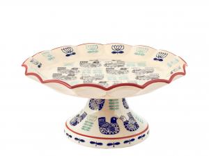 H&h Havana Alzata Stoneware, 20x9,5hcm