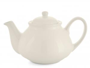 H&h Teiera In Ceramica Avorio Cc 1100