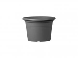 Vaso Polipropilene Cilindro Antracite Cm15 01001