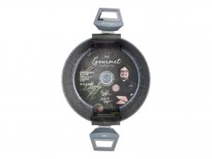 H&h Alessandro Borghese Gourmet Casseruola 2 Manici, Antiaderente, Cm 20, Induz