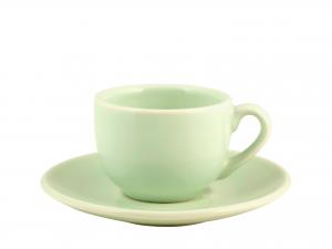 H&h Confezione 6 Caffè Con Piattino Ceramica Madeline Vrd632