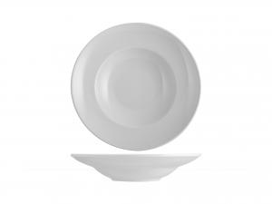 Piatto Pastabowl Porcellana Merano Bianco Cm18