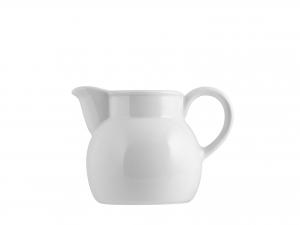 Lattiera In Porcellana Merano Bianco Cc280
