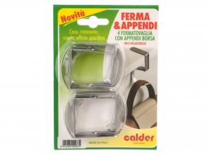 4 Fermatovaglie Inox C/append
