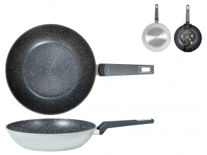 H&h Alessandro Borghese Gourmet Wok, Antiaderente, Cm 28, In
