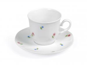 Confezione 6 Te' Con Piatto In Porcellana Jastra 1170   0,20