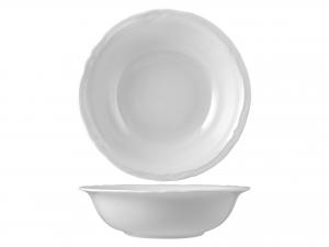 Insalatiera In Porcellana, ø 23 Cm, Bianco
