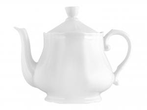 Teiera In Porcellana, 1.2 L, Bianco