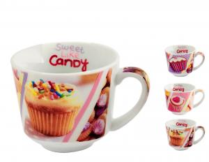 16 Tazze Caffe' Pcl Candy Senza Piatto Cc90