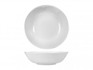 Insalatiera In Porcellana Jastra Bianco Cm 23