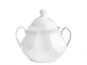 Zuccheriera Porcellana Jastra Bianco Cc 300