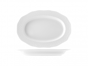 Raviera Porcellana Arianna Bianco Cm24