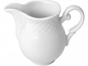 Lattiera In Porcellana Arianna Bianco Cc150