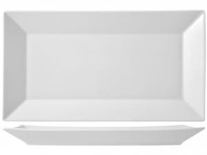 Piatto In Porcellana Rettangolare Classic Bianco 33 2560